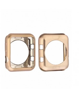 Protector Silicona Para Applewatch Gold 42mm