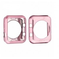 Protector Silicona Para Applewatch Pink 38mm