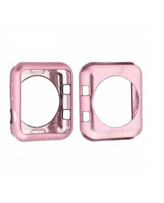 Protector Silicona Para Applewatch Pink 42mm