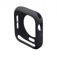 Protector Silicona Para Applewatch Negro 44mm