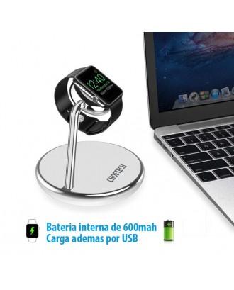 Soporte Apple Watch Certificado Dual USB Powerbank 600mah