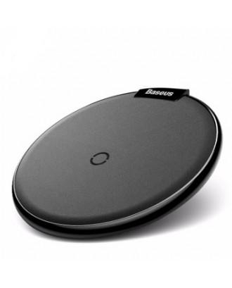 Cargador Inalámbrico Qi Rapido iPhone Android Negro Baseus