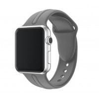 Correa Para Applewatch Silicona DB Gris 38mm 40mm