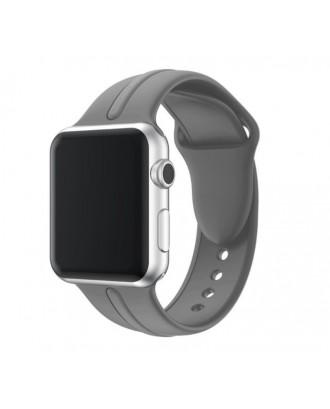 Correa Para Applewatch Silicona DB Gris 42mm