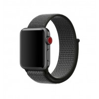 Correa Para Applewatch Nylon Bucle Gris 42mm