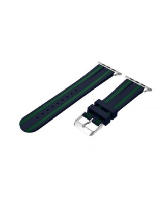 Correa Para Applewatch Silicona Soft N-Verde 42mm