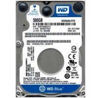 Disco Duro Notebook 500GB WD Blue 16MB WD5000LPCX