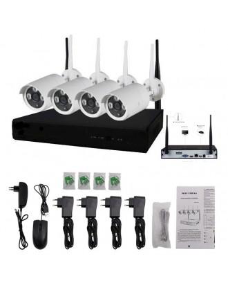 Kit 4 Camaras Seguridad Wifi HD 720P DVR Conexión Internet
