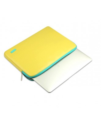 Funda Cuerina Macbook Pro Air Retina 13 / 13.3 Lemon Idools