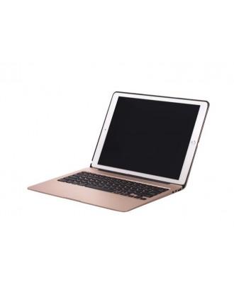 Funda Teclado Bluetooth Iluminado iPad Pro 12.9 Gold
