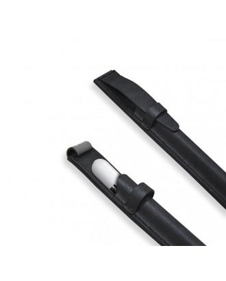 Funda de Cuero Apple Pencil y Lapices Tactiles Negra