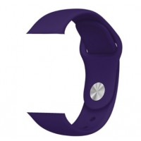 Correa Applewatch Silicona Morada 38mm / 40mm