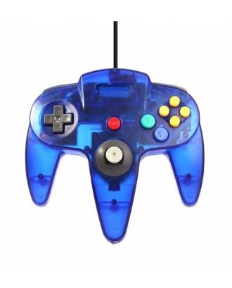 Joystick Usb Pc Diseño Nintendo 64 N64 Azul