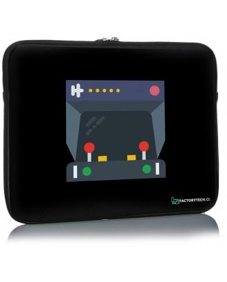 Funda Notebook Sleeve 17.3 Diseño Arcade FCT