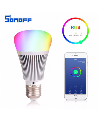 Ampolleta LED RGB Inteligente Inalámbrica WIFI Sonoff B1