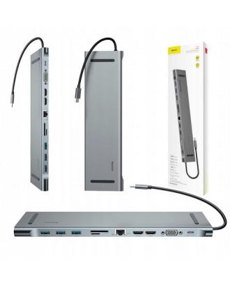 Docking USB-C Notebook Macbook Baseus 11 en 1