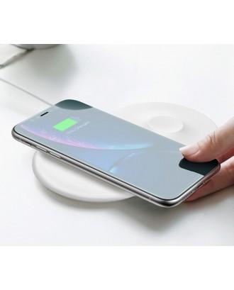 Cargador Inalámbrico Qi iPhone y Applewatch Baseus