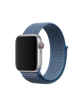 Correa Applewatch Nylon Bucle Azul 42mm / 44mm