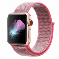 Correa Applewatch Nylon Bucle Rosada 38mm / 40mm