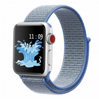 Correa Applewatch Nylon Bucle Celeste 38mm / 40mm
