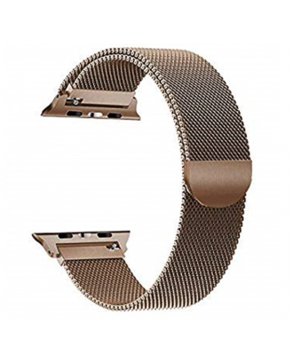 Correa AppleWatch Milanese Magnetica Acero Champagne 42mm / 44mm