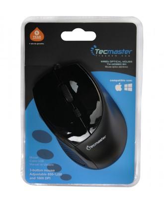 Mouse USB 1200DPI Tecmaster TM-MO360