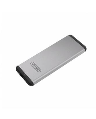 Cofre Aluminio USB 3.0 M2 SSD NGFF SATA 5GPS USB-C Y-3365