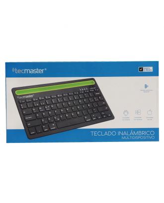 Teclado Multidispositivos Bluetooth Macbook Notebooks Tablets Tecmaster