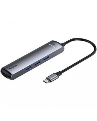 Adaptador USB-C 6 EN 1 Notebook MacBook Pro Air 2018 Baseus
