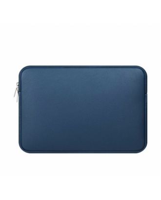 Funda Cuerina Macbook Pro Air Retina 13 / 13.3 Azul Idools