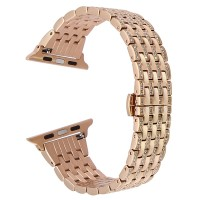 Correa Apple Watch Acero Brillantes Rose 42mm / 44mm