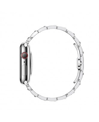 Correa Para Applewatch Acero Premium Hoco B13 38mm / 40mm Silver