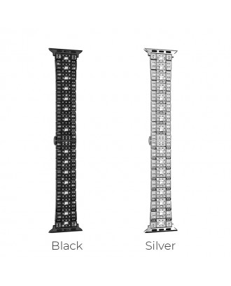 Correa Para Applewatch Acero Premium Hoco B13 42mm / 44mm Silver