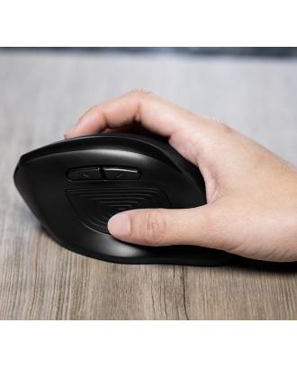 Mouse Inalambrico Ergonometrico Vertical KlipX KMW-390