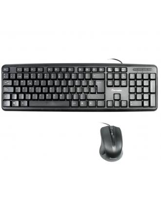 Kit Teclado y Mouse USB Black Tecmaster KM-3353