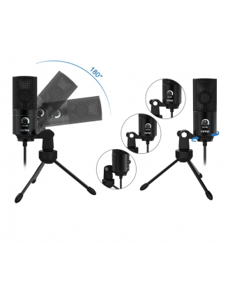 Microfono Condensador Streaming Youtube PC Mac PS4 Fifine K669B