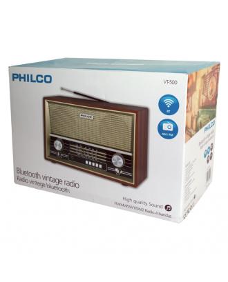 Radio Retro Vintage Bluetooth USB MP3 VT500