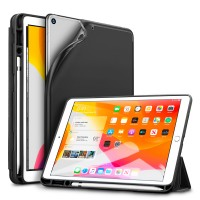 Funda Smartcover iPad 10.2 7Gen Rebound Pencil Negra