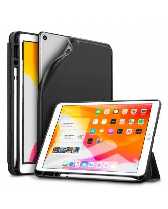 Funda Smartcover iPad 10.2  7/8 Gen Rebound Pencil Negra