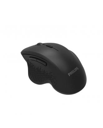 Mouse Inalámbrico Semi Ergonometrico 6 Botones Philips
