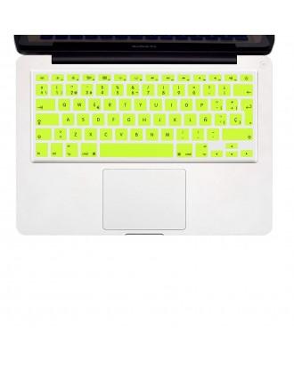 Protector Teclado Macbook Pro / Air / Retina 13 Amarillo Neon