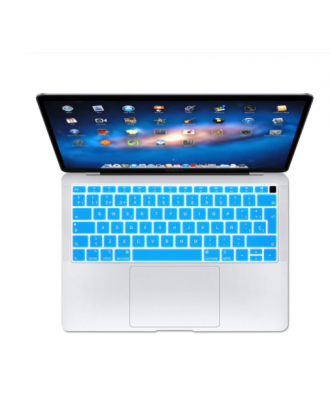 Protector Teclado Macbook Air 2018-2019 Modelo A1932 Sky Blue
