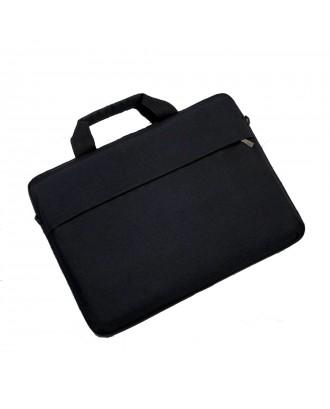 Funda Macbook Pro 15 / 16 Touchbar Negra Maletin Acolchada