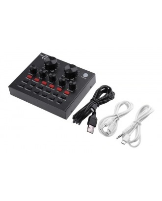 Kit Audio Streaming Mixer 2 Canales y Microfono