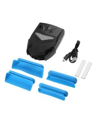 Ventilador Extractor Notebook Gamer USB Externo RGB 700-4000RPM