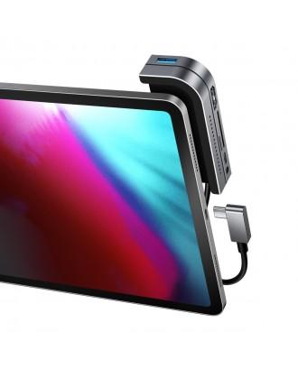 Adaptador 4k USB-C Baseus 6 en 1 iPad Macbook Ultrabooks