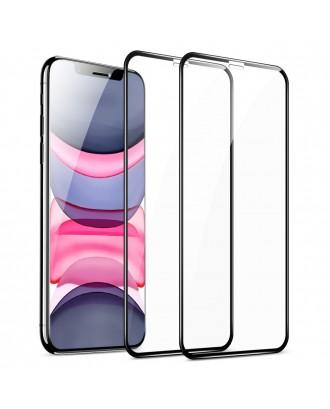 Vidrio Templado Premium iPhone 11 / XR Facil Instalacion 2 Unid ESR