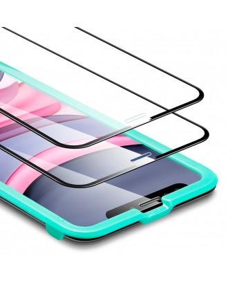 Vidrio Templado iPhone 11 Pro / X / XS  / 2 Unidades Facil Instalación ESR