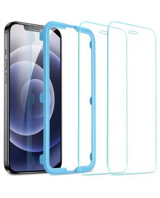 Vidrio Templado Premium iPhone 12 Mini 2 Unidades Facil Instalación ESR