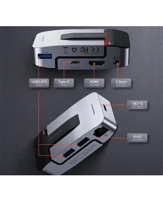 Adaptador Dock Apoyo USB-C 9 en 1 Macbook Baseus